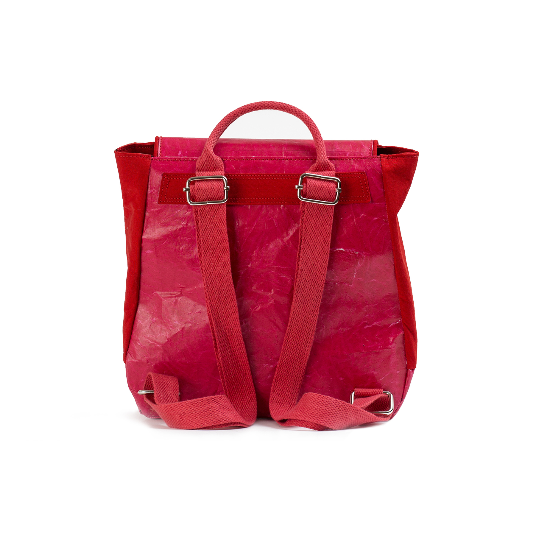Red - Mini Twin Backpack
